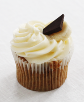 Chocolate and Banana Cupcake